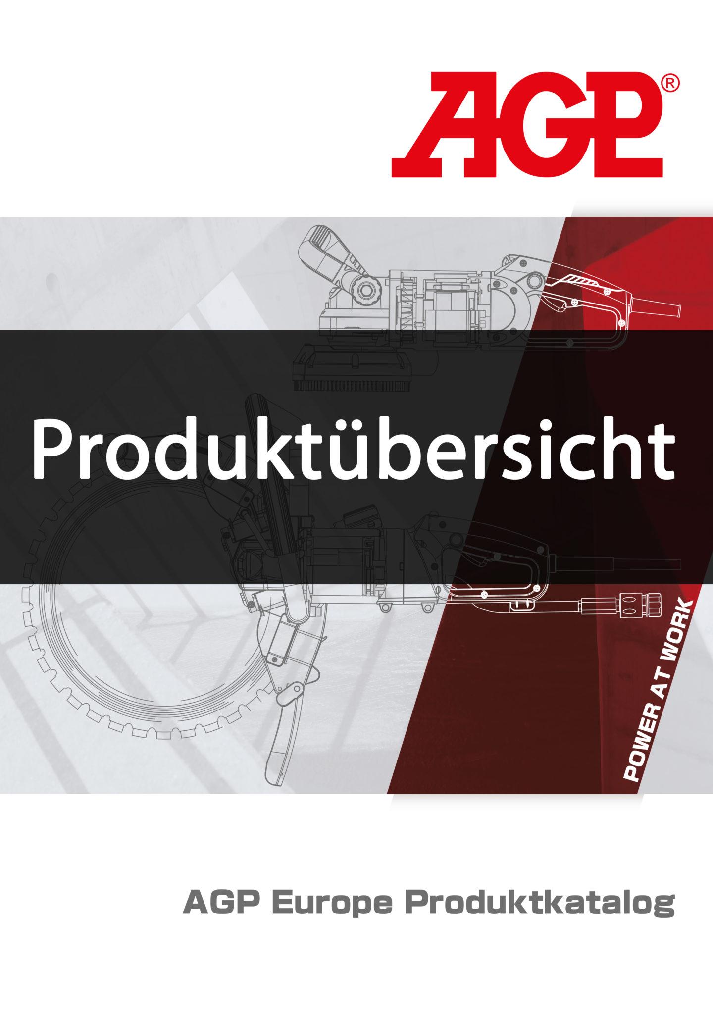 AGP Produktübersicht Deckblatt